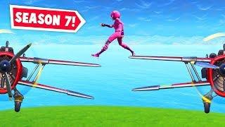 SEASON 7: Insane plane stunts! (Fortnite Funniest Moments EVER #31)