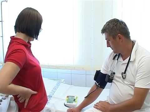 Készülék vérnyomás mérésére és a pulzus, valamint a digitális