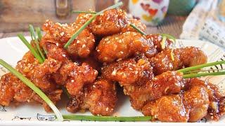 Super Easy Chinese Honey Chicken Recipe 蜜糖鸡 Orange Chicken Inspired • Panda Express Inspired Recipe