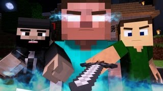 """♪ """"The Miner""""   A Minecraft Parody Of The Fighter By Gym Class Heroes (Music Video)"""