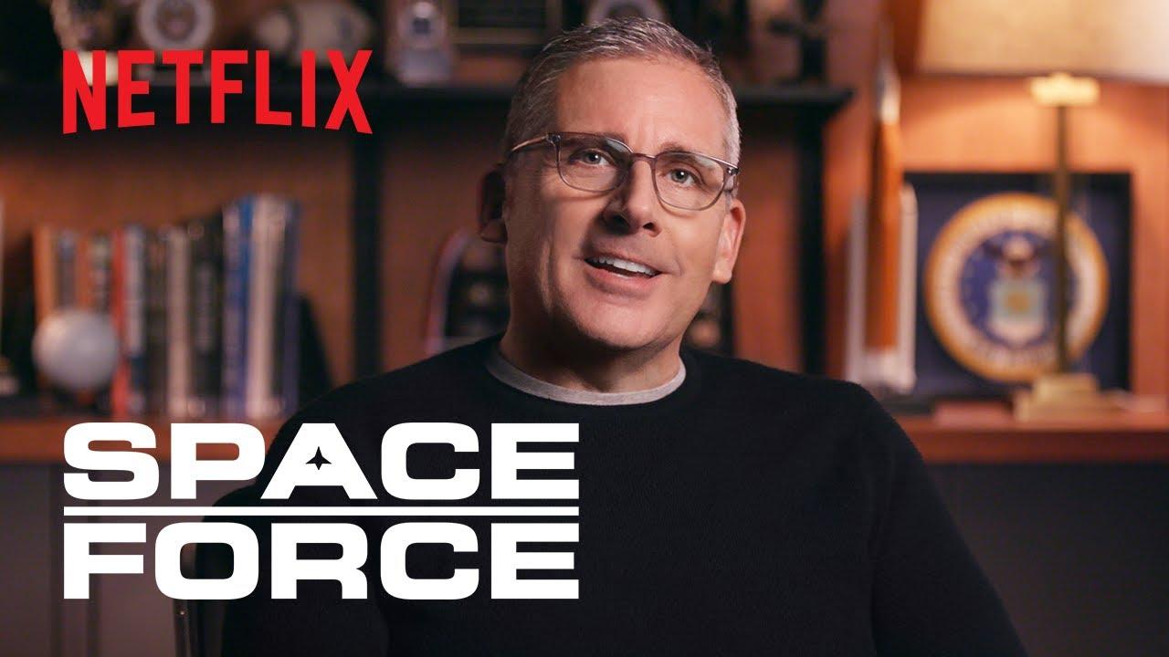 Фичуретка сатирической комедии Netflix «Космические войска»