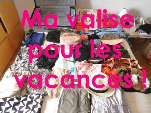 ♡ Ce que j'emporte dans ma valise pour les vacances