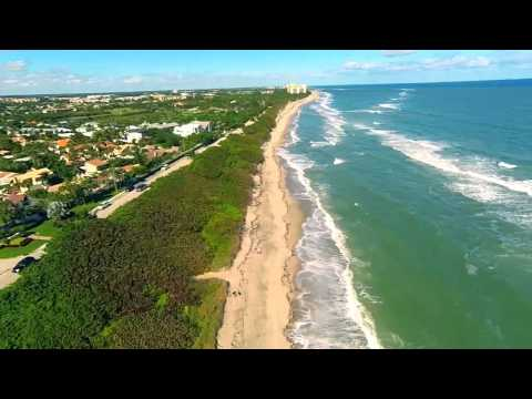 Jupiter FL Beaches Aerial Drone Video