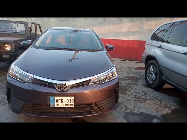Toyota Corolla GLi Automatic 1.3 VVTi 2019 for Sale in Gujranwala