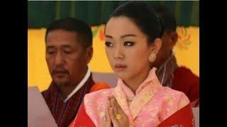 38歲不丹公主太高冷!全程冰山臉不食人間煙火,身穿花衣閃耀全場|宮廷秘史|