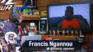 Francis Ngannou on Miocic's Win Over JDS: 'I Was Not Impressed, I Need More Than That'