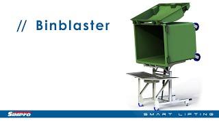 Simpro BinBlaster™ - Hydro-powered wheelie bin washer