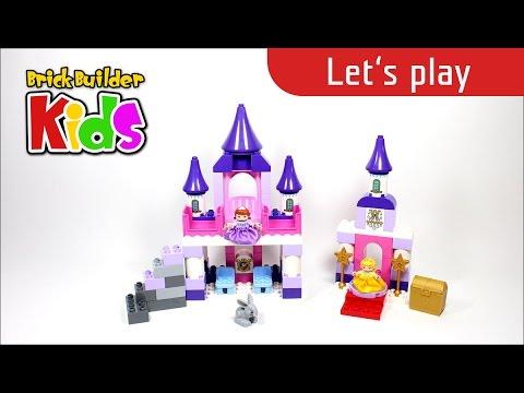 Vidéo LEGO Duplo 10595 : Le château royal de la Princesse Sofia