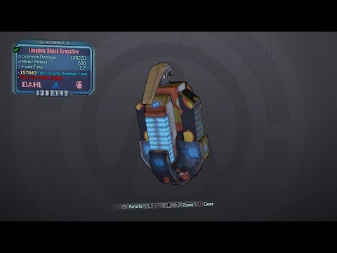 BORDERLANDS 2   *Crossfire* Seraph Weapons Guide