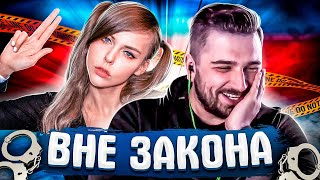 REAL GANGSTER И ALINA RIN ВНЕ ЗАКОНА! PUBG MONTAGE / BATTLEGROUNDS FUNNY MOMENTS