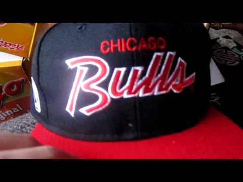 PICKUP - Vintage Chicago Bulls Sports Specialties SCRIPT Snapback Unboxing
