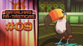 Toucannon  - (Pokémon) - Batalhas Fã-Tásticas #09 - Toucannon Imortal!