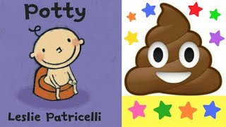 Potty Book By Leslie Patricelli - Stories For Kids - Childrens Books