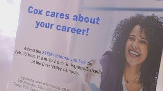 Cox Employees Get The Opportunity To Advance In Their Careers At Internal Job Fair