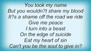 Dream Evil - Love Is Blind Lyrics