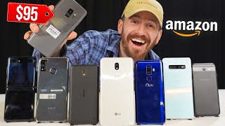 I Bought All The Smartphones On Amazon!!