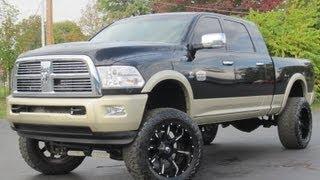 2011 Dodge Ram 2500 MEGA CAB LARAMIE LONGHORN LIFTED CUMMINS SOLD!!!