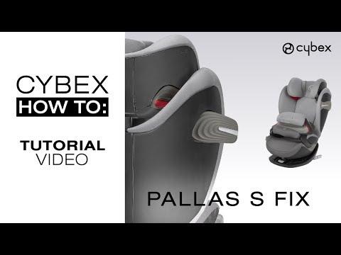 Cybex автокресло Pallas B-fix, 9-36 кг, Bay blue цена и информация   Автокресла   220.lv