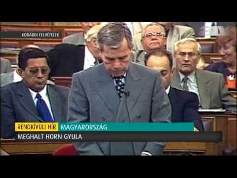 Meghalt Horn Gyula letöltés