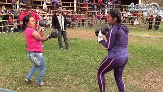 BOX RANCHERO EN LA CHICOCANA AYUTLA MIXE 2018,  #LaCholeRifa (EL RÉFERI SALIÓ MADREADO)