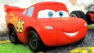 Молния Маквин - машинки, гонки. Сборник видео для детей