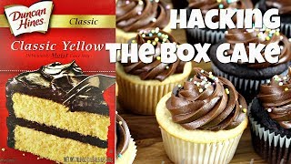 make a box cake mix without eggs