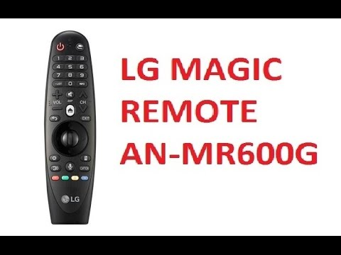 LG Magic Remote AN-MR600 Indepth Overview - Pairing, Buttons, Mouse, Microphone