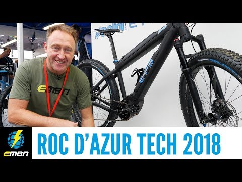 New Motors, E-Bikes & Tech | E-Bike Highlights From Roc d'Azur Festival 2018