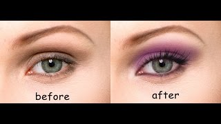 How to apply Realistic Eye Makeup in Photoshop