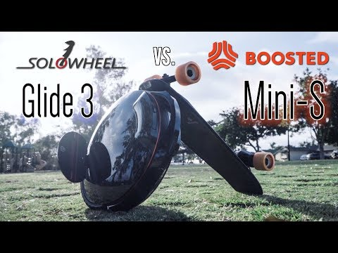 Boosted Mini S vs Solowheel Glide 3! Electric Skateboard Review