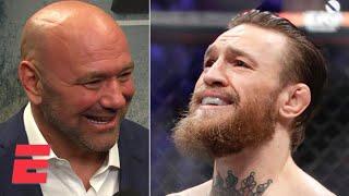 Dana White: Conor McGregor destroyed Donald \'Cowboy\' Cerrone in TKO win | UFC 246 | ESPN MMA