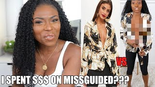 I SPENT £700 ON MISSGUIDED....HAVE THEY FALLEN OFF? ONLINE vs REALITY!