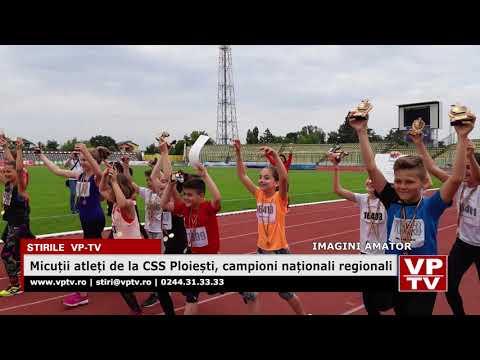 Micuții atleți de la CSS Ploiești, campioni naționali regionali