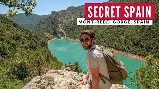 Spain's MUST SEE Hidden Gem | Hiking Congost de Mont-rebei Catalonia | Full Time Travel Vlog 11