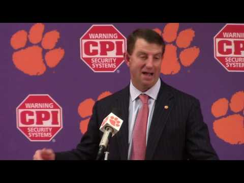 TigerNet.com - Dabo Swinney PiItt postgame press conference