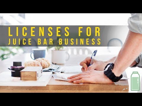 , title : 'Licenses For Your Juice Or Smoothie Bar Business