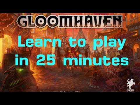 How to Play Gloomhaven (Campaign and Scenario) in 25 Minutes