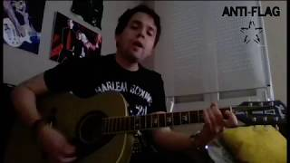 THE ECONOMY IS SUFFERING... LET IT DIE - ANTI FLAG (COVER)