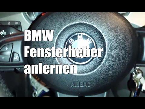 BMW Fensterheber anlernen