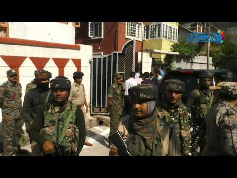 Home Minister Amit Shah visits slain SHO's family in Karan Nagar, offers condolences
