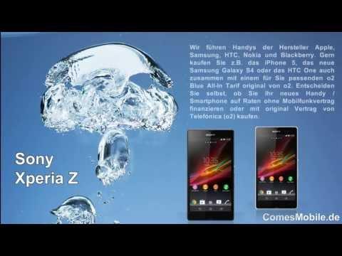 Sony Xperia Z Ratenkauf oder mit Vertrag - ComesMobile.de