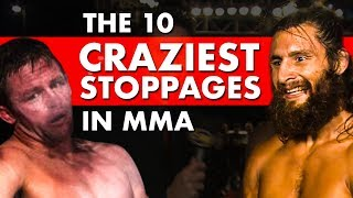 10 Craziest Late Stoppages in MMA