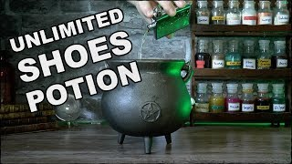 How To Make An Unlimited Shoes Potion