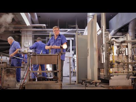 Business TV bei  Zwiesel Kristallglas. Interview mit Dr. Buske, Vorstand und Inhaber.