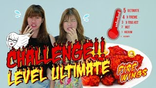Video Richeese Fire Wings Challenge - Ria's Vlog #07 MP3, 3GP, MP4, WEBM, AVI, FLV September 2019
