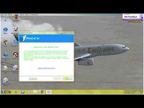 Creating AI Flight plans tutorial (FS9/FSX) - смотреть