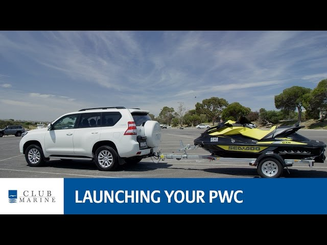 How to launch your jet ski or PWC | Club Marine