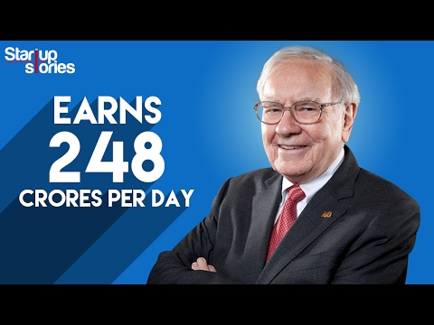 Warren Buffett Success Story | How Warren Buffett Became The World's Richest Man | Startup Stories
