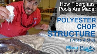 How Fiberglass Pools Are Made; Chopped Fiberglass Structure; Video 4 of 8 in How to Build the Perfec