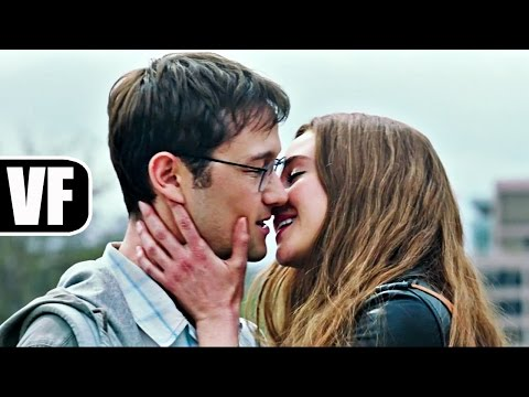 SNOWDEN Bande Annonce VF (2016) Shailene Woodley, Joseph Gordon-Levitt